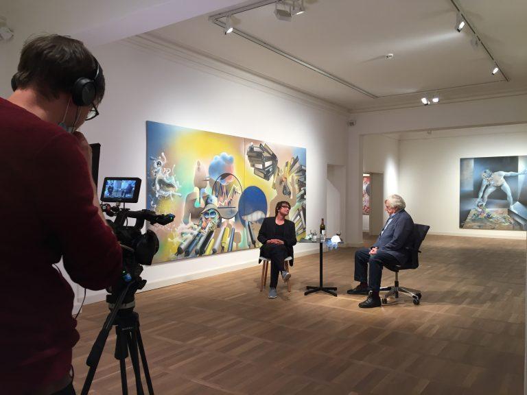 Gespräch zwischen Bernhard Martin und Bazon Brock