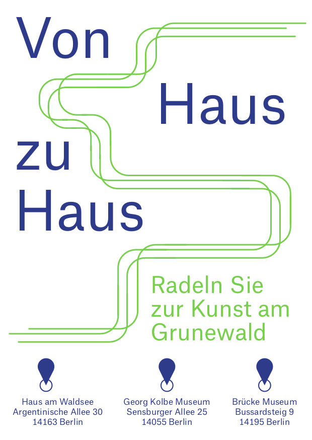 Cycle to the arts in Grunewald