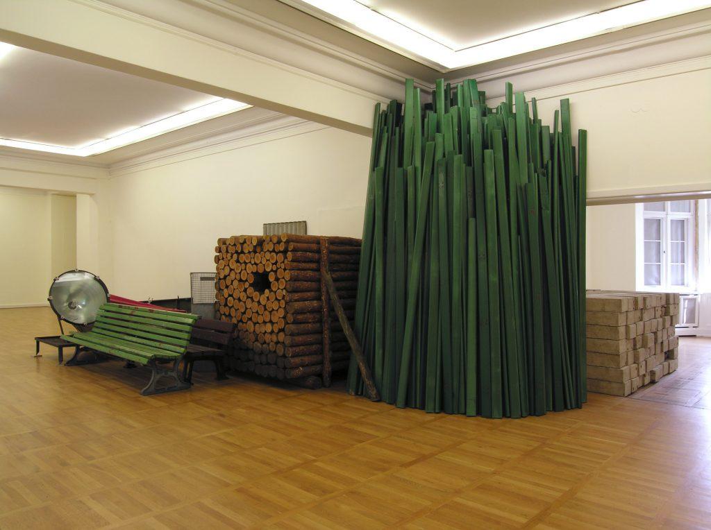 Florian Slotawa – Land gewinnen. Skulptur