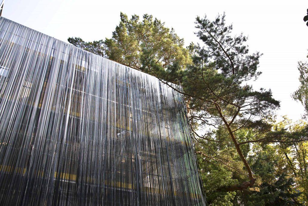 Haus im Umbau. Skulpturenpark