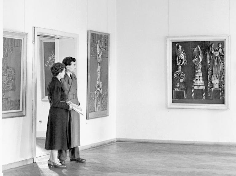 Zur Eröffnung des Hauses am Waldsee am 6. Januar 1946
