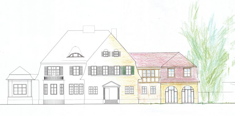 Das Haus am Waldsee wird bis Januar saniert und erweitert
