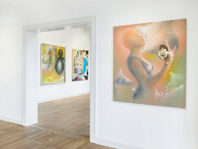 Bernhard Martin –Image Ballett, Installationsansicht, Foto: Roman März