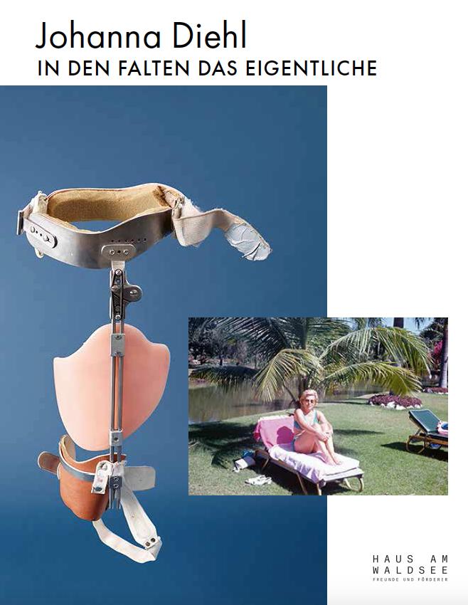 Katalog Johanna Diehl. In den Falten das Eigentliche. 2020