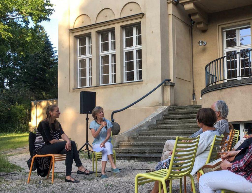 Katja Strunz und Katja Blomberg_Künstlergespräch