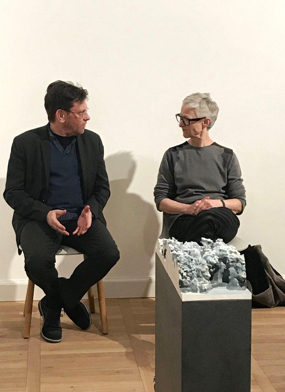 Künstlergespräch mit Karin Sander