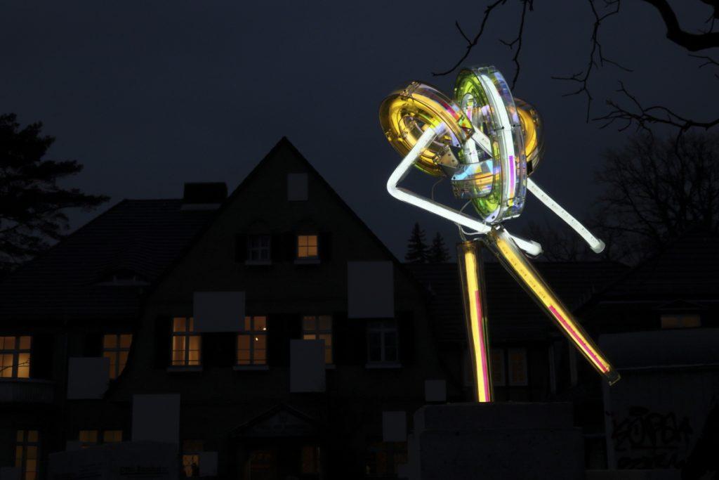Neue Lichtskulpturen von Susanne Rottenbacher