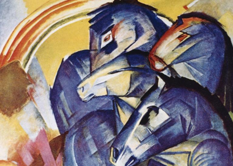 VERMISST! Der Turm der blauen Pferde von Franz Marc